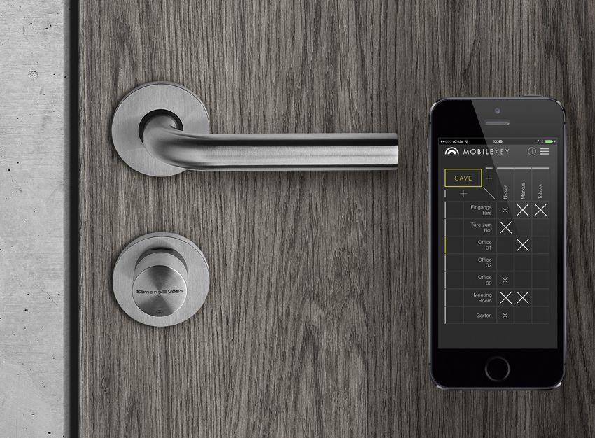 schl sselloser zutritt elektronische zutrittskontrollen. Black Bedroom Furniture Sets. Home Design Ideas